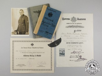 Germany, Empire. An Extensive Document Group to Somme & Siegfried-Front Combatant