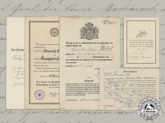 Germany, Empire. A Document Group to Voluntary Medical NCO Heinrich Holst