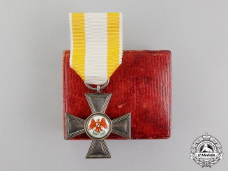Germany, Prussia. A Cased Order of the Red Eagle 4th Class, 1854-1879