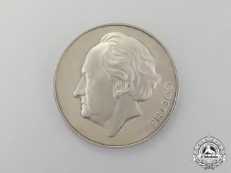 Germany. A Goethe Medal for Art and Science in Silver