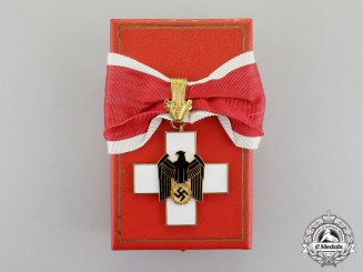 Germany. A German Social Welfare Decoration, 1st Class, by Gebr. Godet & Co., in Case of Issue,