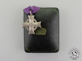 A Memorial Cross to Private Osmond John Culbert Begin, 86th Machine Gun Battalion, KIA in the Somme
