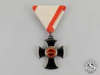 Montenegro, Kingdom. An Order of Danilo, Fifth Class Knight, c.1900
