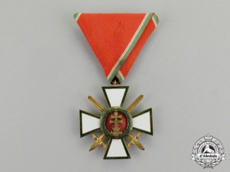 Hungary. A Hungarian Order of Merit; Military Division 4th Class with Swords