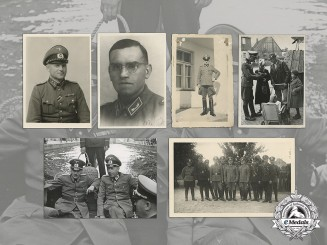 Germany. A Collection of Nine Customs Officials Photographs, c.1938