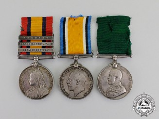 Canada. A South African War & First War Group to Major Charles Edward Mills