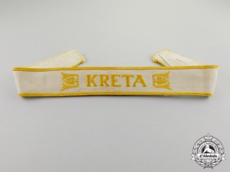 Germany. A Kreta Campaign Cuff Title