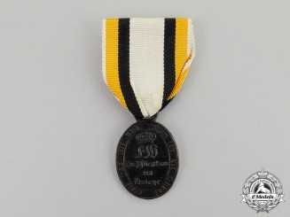 Prussia. An 1815 Issue War Commemorative Medal to a Non-Combatant