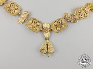 Spain. An Order of the Golden Fleece, Collar Chain, c.1970