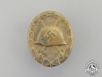 Germany. A Gold Grade Wound Badge by Eugen Schmidhäussler