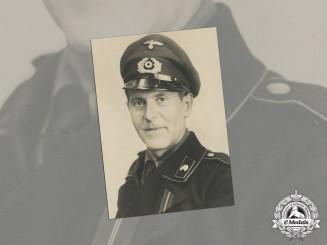 Germany, Heer. A Wartime Photo of Panzer Soldier