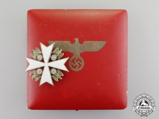 Germany. A Cased Third Reich Period Second Class Order of the German Eagle by Deschler