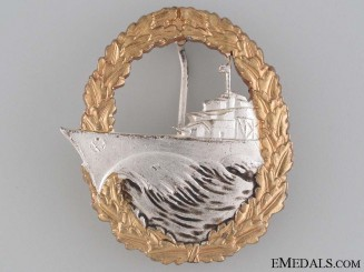 Destroyer War Badge - 1957 Issue