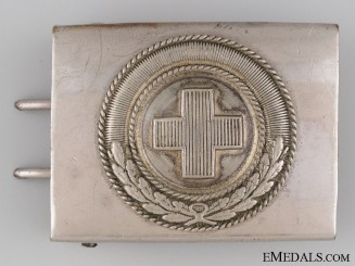 Deutsche Red Cross Belt Buckle