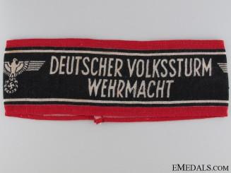 Deutscher Volksstrum Wehrmacht Armband