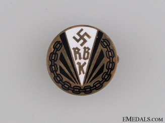 Disabled Veteran's Society Badge