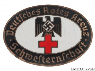 DRK Sisterhood Service Badge