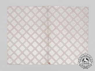 An Ornate Second War Period German Paper Sleeve