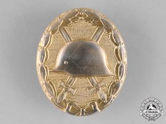 Germany, Republic. A Wound Badge, Gold Grade, Alternative 1957 Version