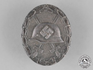 Germany. A Wound Badge, Silver Grade, by the Official Vienna Mint
