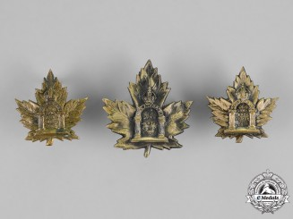 Canada. A Canadian Army Dental Corps Insignia Set, c.1917