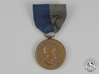 United States. An Army Civil War Campaign Medal with Second Style Ribbon 1861-1865
