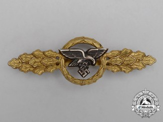 A Gold Grade Luftwaffe Squadron Clasp for Transport Pilots