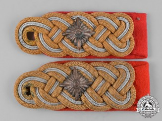 Germany, Heer. A Set of Heer Generalleutnant's Shoulder Boards