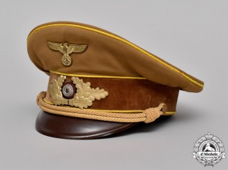 Germany. An NSDAP Reichsleitung Level Visor Cap