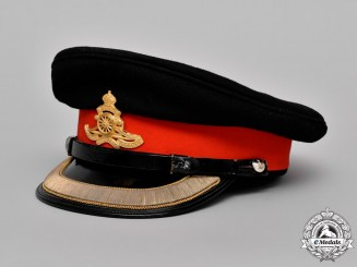 Canada. A Royal Canadian Artillery Forage Cap of Lieutenant-Colonel A.V. Taylor, CD