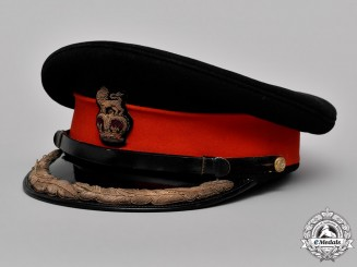 Great Britain. An Army Brigadier's Forage Cap, c.1952-1953