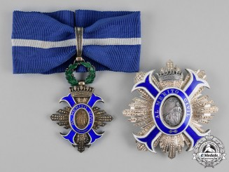 Spain, Fascist State. An Order of Civil Merit, Commander, c.1950