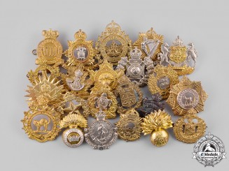 Canada. A Lot of Twenty-Two Cap Badges and Glengarry Badges