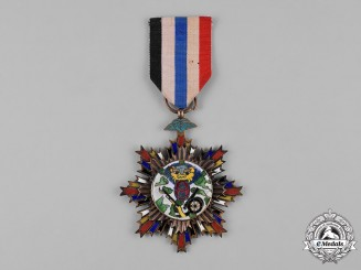 China, Republic. A Military Order of Bravery, II Class, c.1940