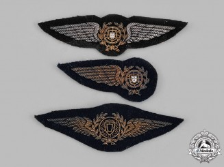 Portugal, Republic. Three Air Force (PoAF) Badges