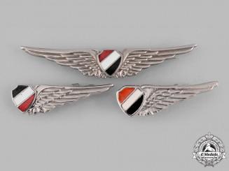 Egypt, Arab Republic. Three Air Force (EAF) Badges