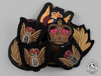 Canada. A Lot of Seven Armed Forces Badges