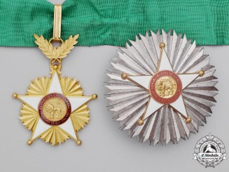 Senegal. A Order of the Lion, Knight Commander's Set