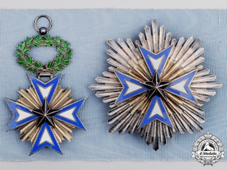 France, Colonial. An Order of the Black Star of Benin, Grand Cross