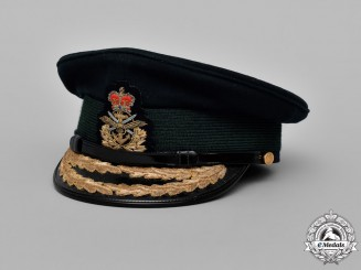 "Canada. An Armed Forces ""Unification Period"" Army General's Service Dress Cap, c. 1973"