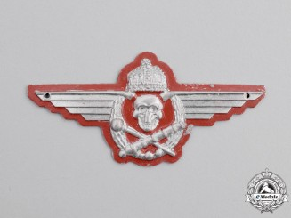 Hungary, Kingdom. An Artillery Badge, c.1938