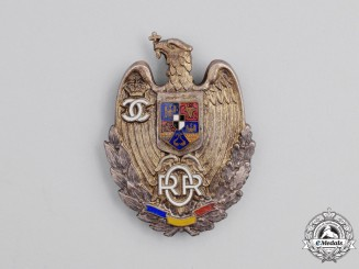 Romania, Kingdom. A Reserve Officer's Badge, c.1935