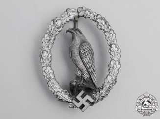 Germany. A Scarce Retired Luftwaffe Pilot's Badge