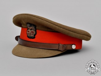 Great Britain. British Army Brigadier's Forage Cap, Post 1953