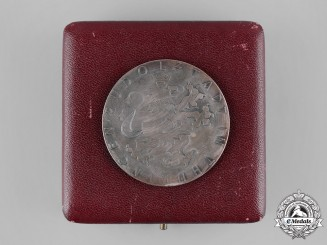 Germany, Weimar Republic. A 1931 Bad Blankenburg Harvest Medal with Case