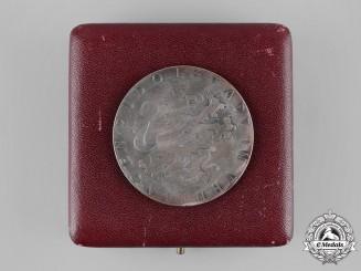 Germany, Weimar Republic. A 1931 Bad Blankenburg Harvest Medal with Case