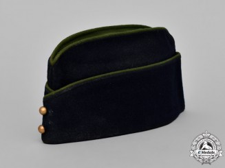 France. French North Africa Garrison Cap with Four Casablanca Tickets