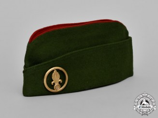 France. A Foreign Legion Infantry and Engineers Units Side Cap