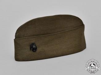 United States. A Marine Corps Side Cap (AKA Garrison Cap)