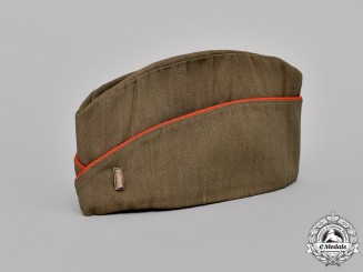 United States. An Army First Lieutenant's Field or Coastal Artillery Units Side Cap (AKA Garrison Cap)